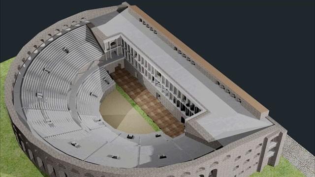 Еве како ќе изгледа отворениот амфитеатар во Скупи