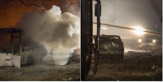 Бомба автомобил експлодира во Анкара, најмалку петмина загинаа  (ВИДЕО)