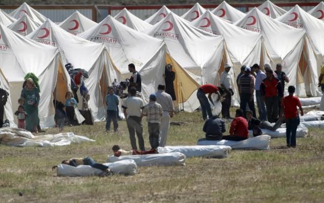 Бегалски камп во Турција