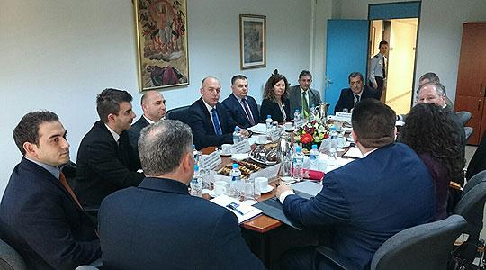 Солун: Директорот на БЈБ Савовски на средба со неговиот грчки колега