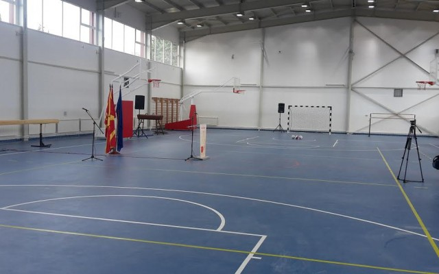 Нова спортска сала во населба Ченто