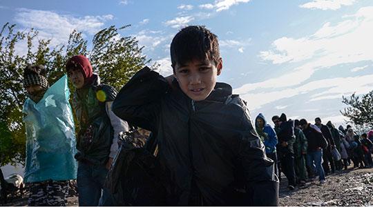 Центри на ОН за децата мигранти кои поминуваат низ балканската рута