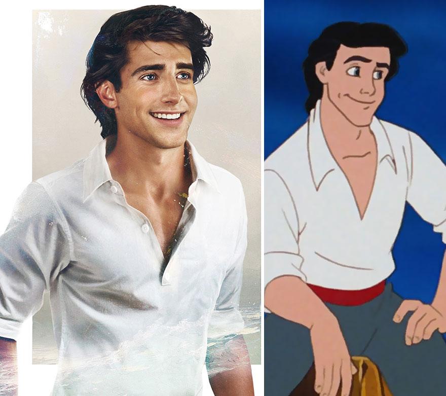 ФОТО: Како изгледаат принцовите на Дизни во вистинскиот живот