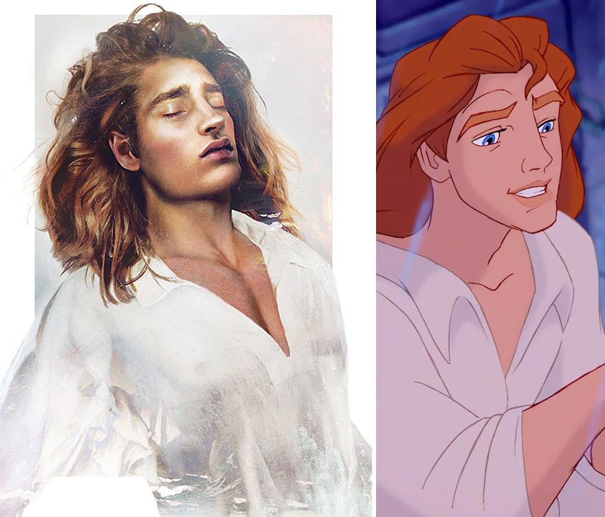 Принцот Адам од Убавицата и ѕверот