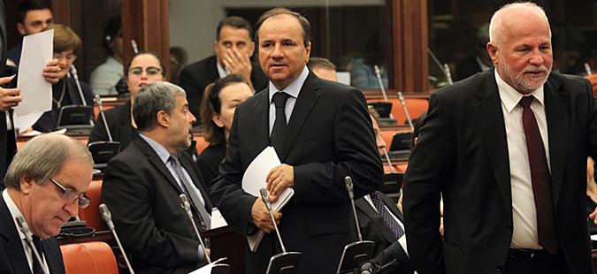 Иницијатива од ДУИ за повлекување на одлуката за распуштање на Парламентот