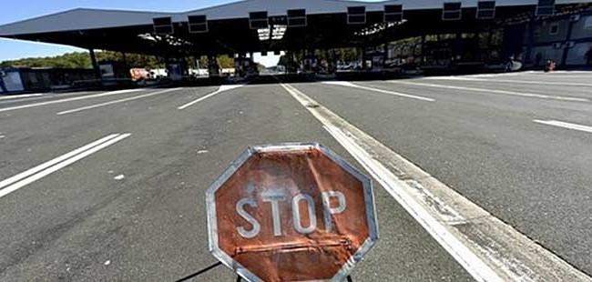 """Во прекин сообраќајот на граничниот премин """"Дојрани"""""""