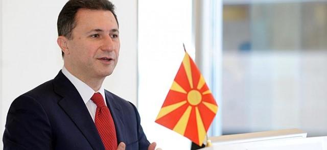 Груевски: Македонија не може да биде играчка на СДСМ