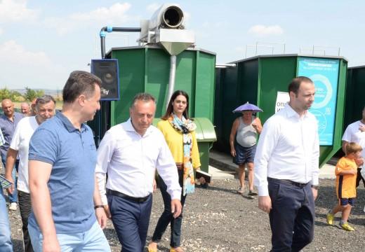 Пуштена во употреба нова пречистителна станица во Илинден