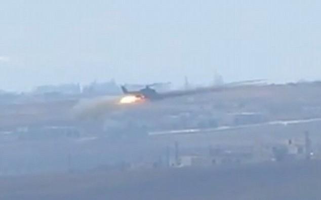 ИД собори хеликоптер на ирачката армија
