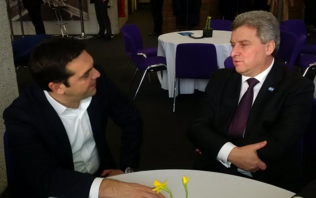 Иванов – Ципрас: Потребно е интензивирање на соработката во однос на бегалската криза!