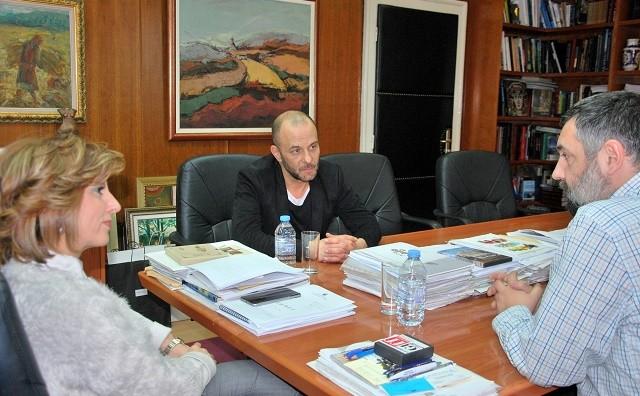 Канческа-Милевска се сретна со режисерот Томаж Пандур