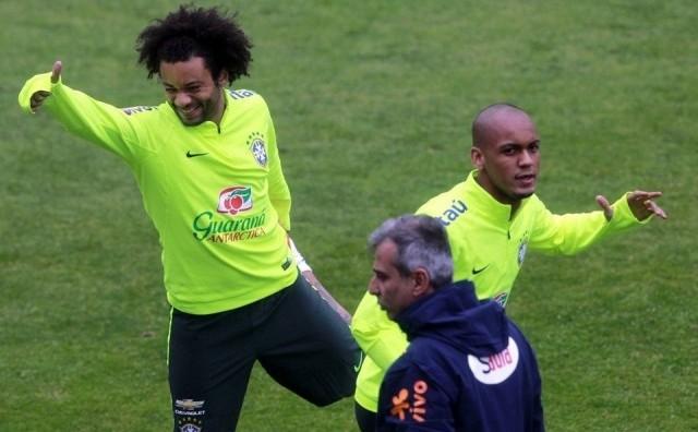 Пеп со Марсело во Манчестер Сити