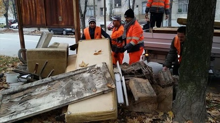 Ќе се собира кабастиот отпад од општина Кисела Вода
