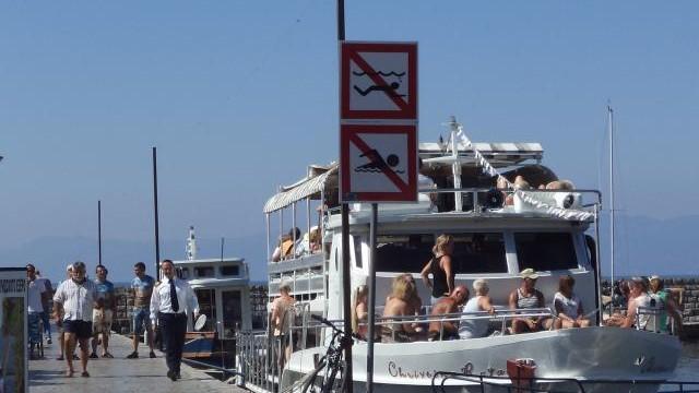 Украдени 30 пловидбени знаци од Охридското езеро