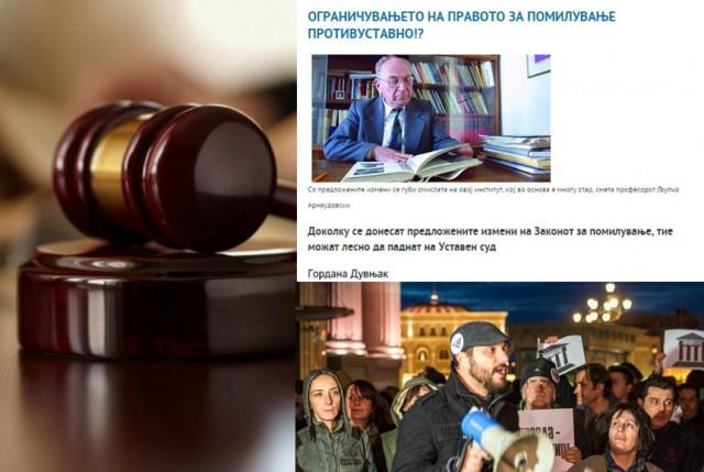 Првенците на СОРОС и СДСМ тврдеа дека ограничувањето на правото за помилување е противуставно, сега манипулираат и прават протести