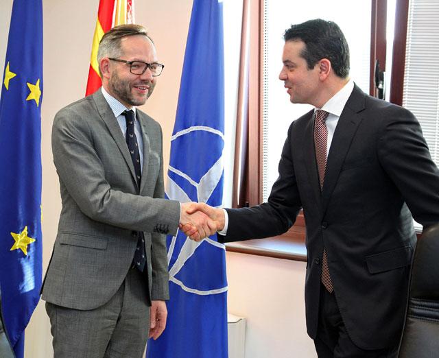 Попоски-Рот: Германија ќе продолжи да ги поддржува евроинтегративните процеси на Македонија