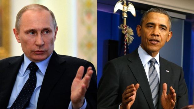 Путин и Обама телефонски разговарале за Сирија