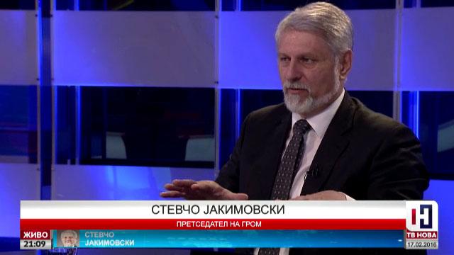 Јакимовски: СДСМ бега од квалитетни и аргументирани дебати