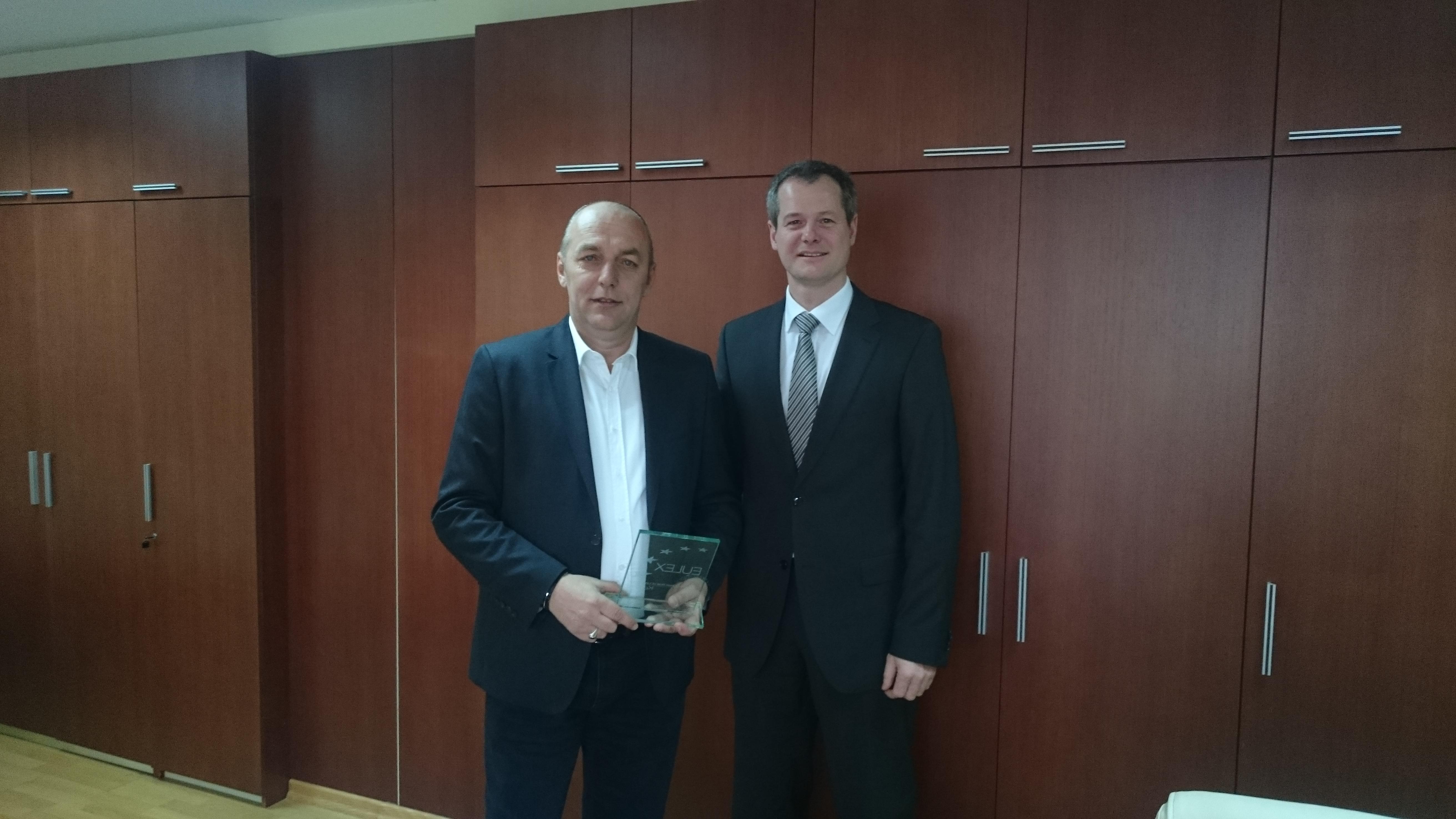 Савовски на средба со директорот на полиција на ЕУЛЕКС од Косово
