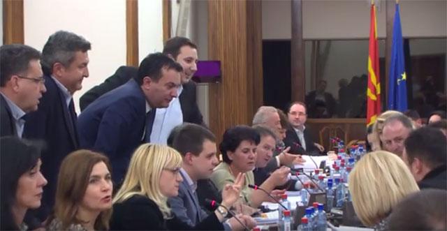 СДСМ ја блокира работата на Комисијата за образование
