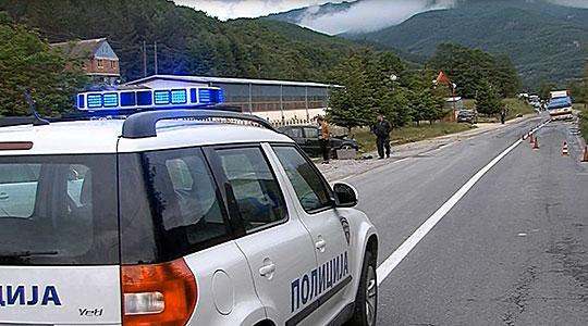 Сообраќајка на патот Виница-Берово, сообраќајот е во прекин