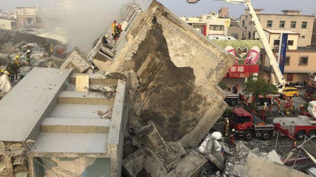 Досега 59 жртви од земјотресот во Тајван