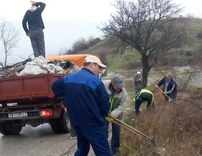 Општина Кисела Вода ја исчисти дивата депонија кај Теферич