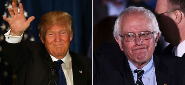 Трамп и Сандерс победија на прелиминарните избори во Њу Хемпшир