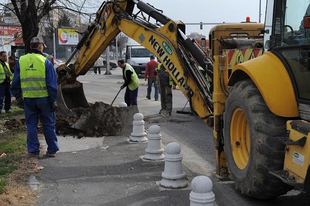 Реконструкција на велосипедската патека на булевар Јане Сандански