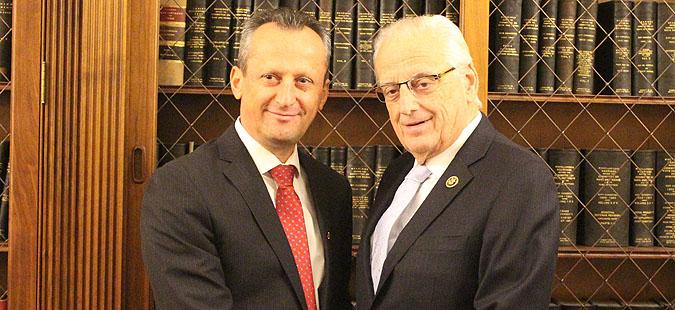 Вељаноски на средби со конгресмени од САД
