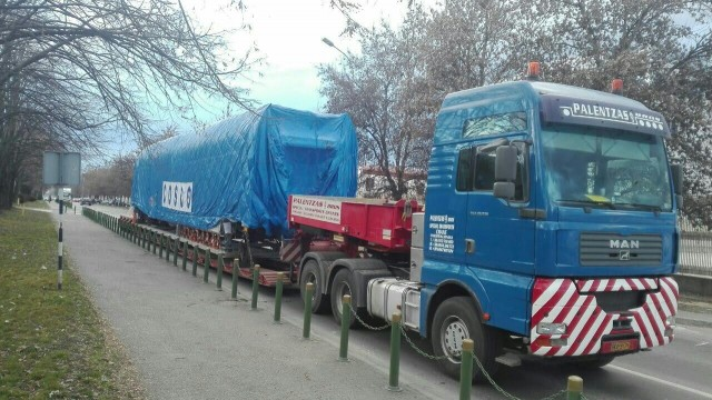 ФОТО: Вториот модерен воз пристигна во Македонија