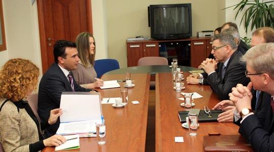 Средба на Заев со чешкиот министер за надоврешни работи Заоралек