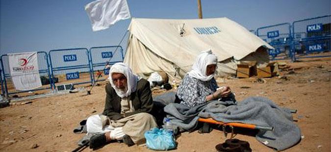 Три деца на сириски бегалци загинале при пожар во бегалски камп