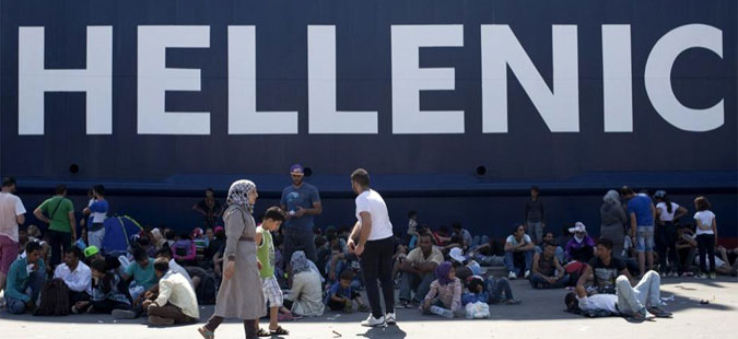 Во Грција има повеќе од 51 илјада бегалци и мигранти