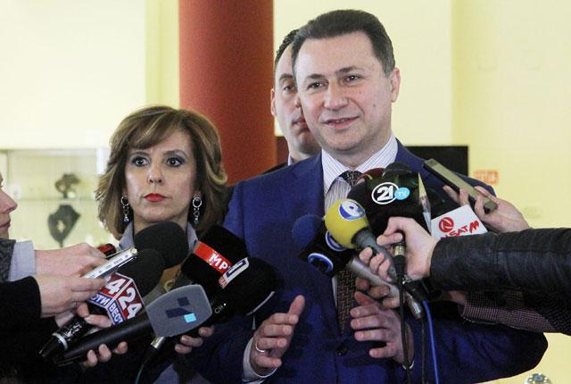 """Груевски: Американската """"Амфенол"""" ќе вработи нови 550 лица"""