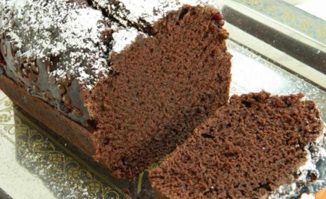 Посна чоколадна торта