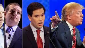 Тројцата републикански кандидати за претседател на САД ги повлекуваат ветувањата за меѓусебна поддршка