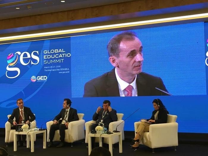 Адеми на Глобален образовен самит во Турција