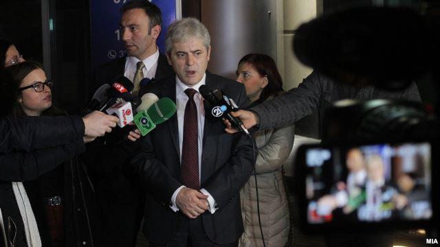 Ахмети повикан како сведок во Специјалното обвинителство
