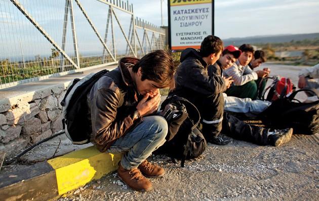 Критичнo во Пиреја поради бегалците