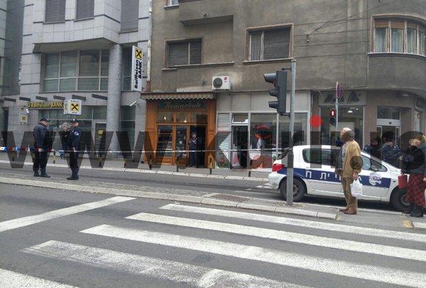 ФОТО+ВИДЕО: Се разнел со бомба во центарот на Белград