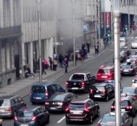 Нов терористички напад во Брисел: Бомба во метро станица во Моленбег