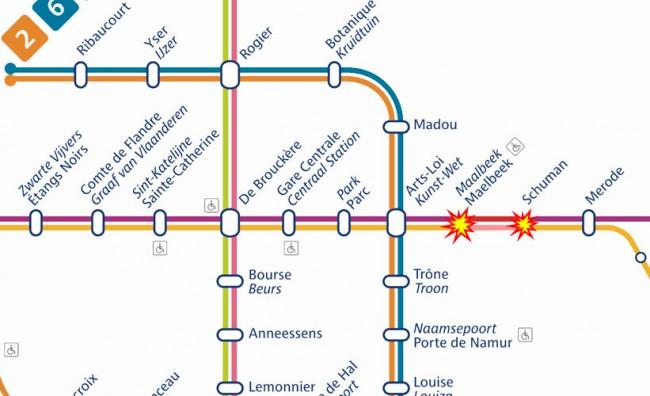 brisel metro