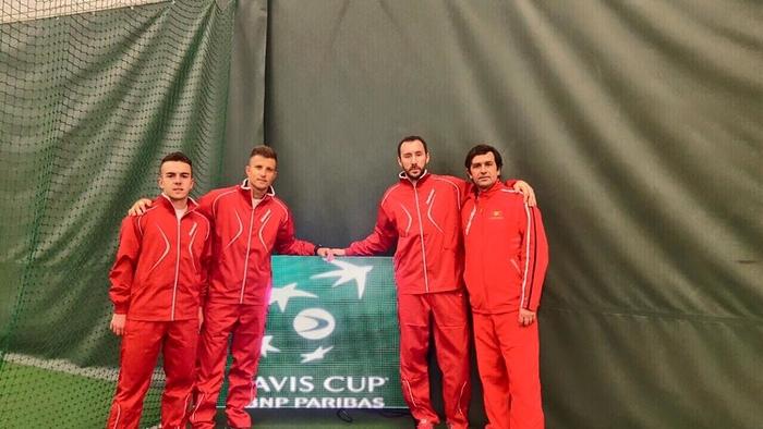 Тениската репрезентација на Македонија ги доби ривалите
