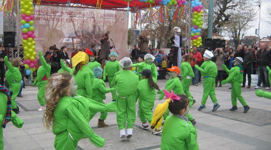 """Во рамки на прилепскиот карневал """"Прочка 2016"""", дефиле на детски маски"""