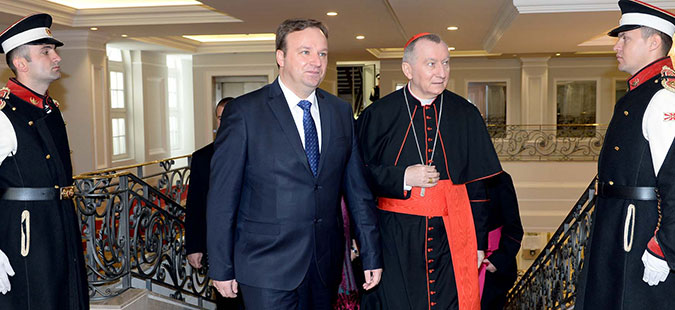 Димитриев-Паролин: Македонија и Ватикан ги поврзуваат духовни и културни вредности