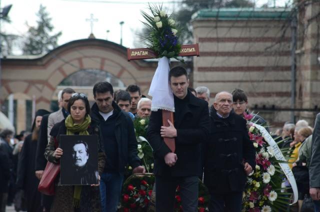 Погребан Драган Николиќ  (ФОТО)