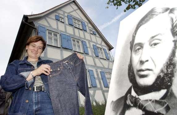 ФОТО: Тања Ропелт, менаер на музејот Леви Штраус во Бутенхајм, Германија.
