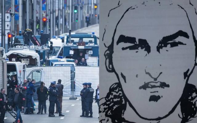 Фоторобот на вториот напаѓач од метро станицата во Брисел