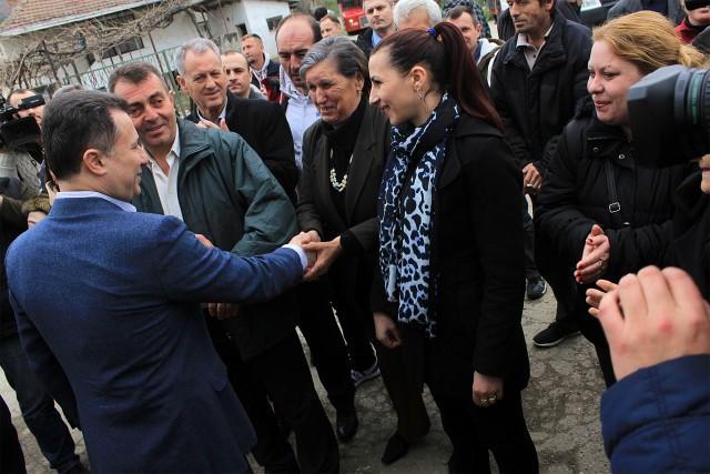 Се исполнуваат ветувањата од посетата на Груевски во Ѓорче Петров